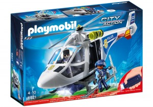 PLAYMOBIL CITY ACTION Helikopter policyjny 6921